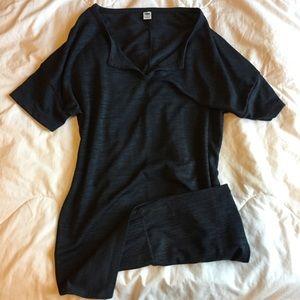 V-neck Tshirt dress