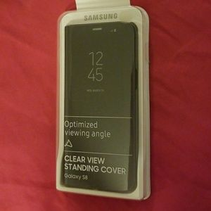 Accessories - Galaxy s8 clear view standing cover