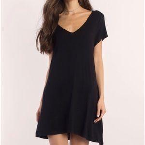 TOBI Black shift dress