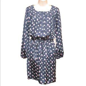 NEW Max Studio Satin Floral Dress