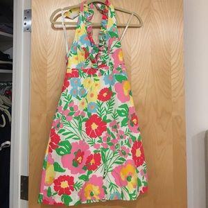 Lilly Pulitzer garden halter dress