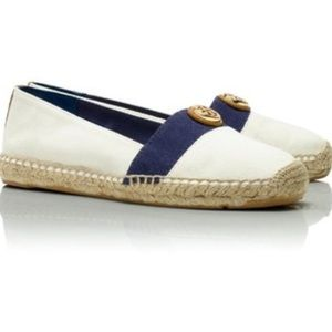 New Tory Burch beacher flat espadrilles