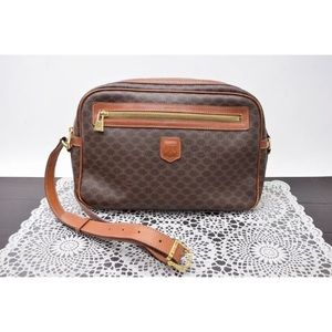 Authentic Celine Shoulder Bag  Browns Macadam