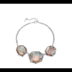 Ocean lace statement necklace