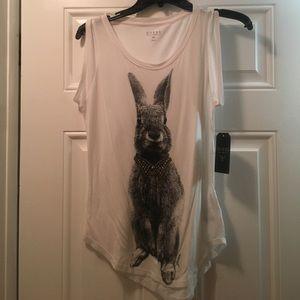GUESS? Rabbit tank top