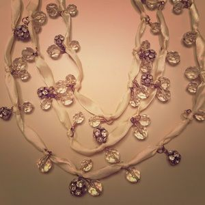 Anthropologie 3 Tier Necklace