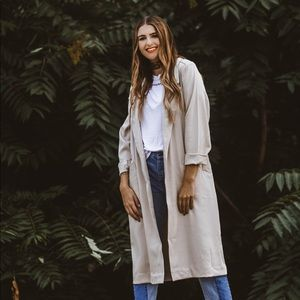 Two Feathers Veronica Trench Coat