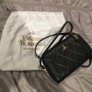 Vivienne Westwood black crossbody NWOT