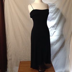 Byer Too! Strappy Black Evening Dress