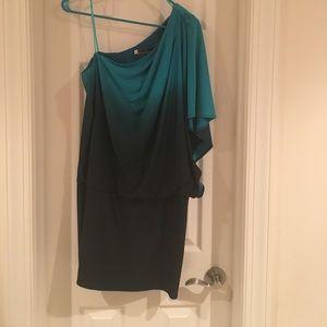 Ombré mini dress