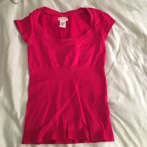 Hot Pink fitted Guess T