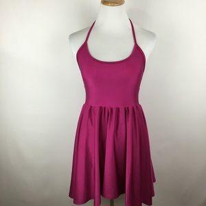 American Apparel halter mini dress sz Small