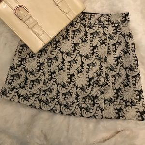 Urban Outfitters Cooperative Brocade Mini Skirt