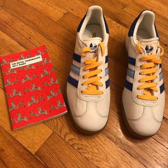 The Life Aquatic Team Zissou Adidas Gazelle Shoes f86d0ea5b