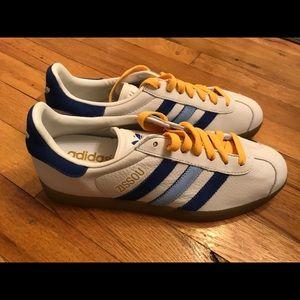 cf6a517c98a7 adidas Shoes The Life Aquatic Team Zissou Adidas Gazelle Shoes adidas zissou.  The limited edition ...