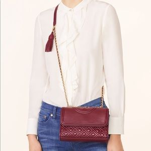 SOLD OUT Tory Burch Small Fleming Convertible Bag