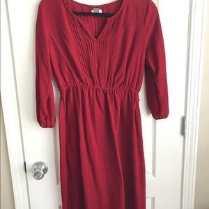 Old Navy Petite midi dress