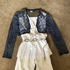 Scala Beaded bolero jacket
