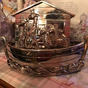Silver plated bank