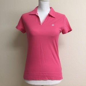 NWT Pink polo shirt