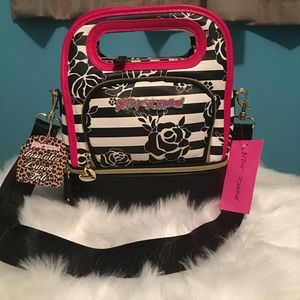 Betsey Johnson Top Handle Insulated Lunch Tote