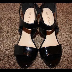 Kelly & Katie Shoes - Black Kelly&Katie Heels