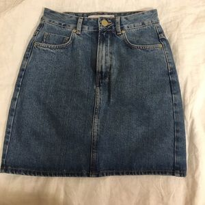 Denim Skirt - US size 4
