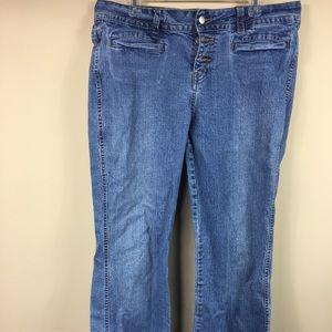 Jordache women's blue jeans. Preowned.