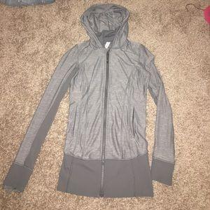 Grey lululemon zip up