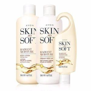 Skin So Soft Radiant Moisture Set