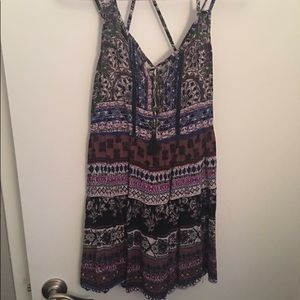 Summer Strappy Back Sundress/Dress