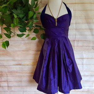 Suzi Chin Maggie Boutique Dress Purple Sweetheart
