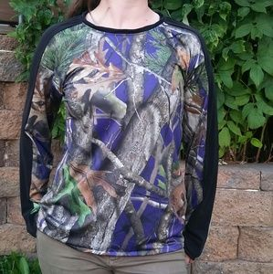 Next Camo Long Sleeve Shirt Top