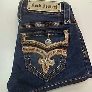 Rock revival xia shorts