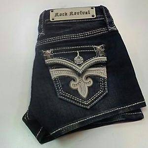 Rock revival sukie shorts-c