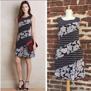 Anthropologie Maeve Jacquard Shift Dress