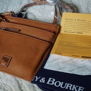 Dooney & Bourke Tri-Zip Clutch