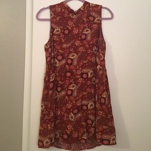 Forever 21 ~ 70's styled ~ Fall Colors ~ Dress