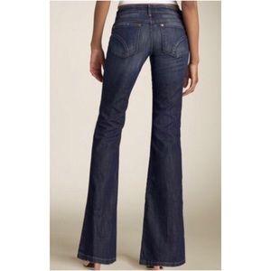 Joe's Jeans Rocker Nico Jeans, Dark Wash Flare