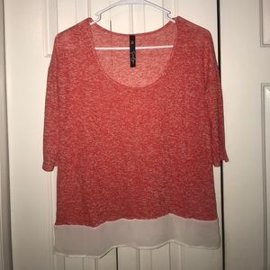 Red jessica Simpson top