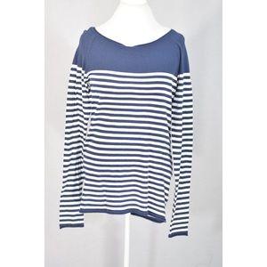H&M Navy Blue Striped Tunic