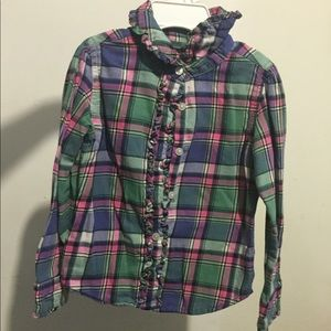 Girls Ralph Lauren long sleeved button up
