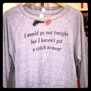 "The Smiths "" I Would Go Out Tonight..."" Sweatshirt"