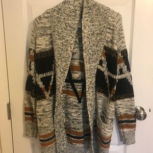 Forever 21 chunky cardigan