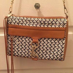Rebecca Minkoff Woven Leather Crossbody Bag