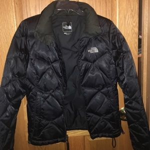 North Face short Puffer jacket