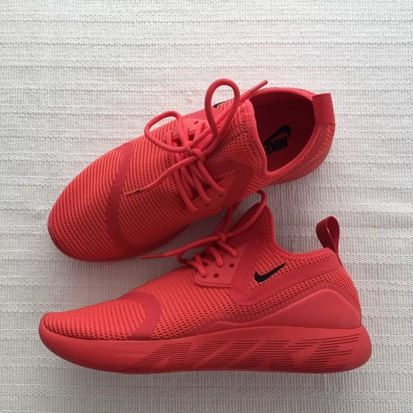 4cd3452ad0a818 Women s Nike LunarCharge Breathe Red Sneakers