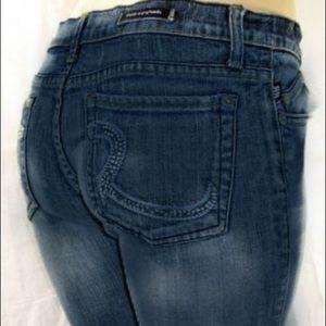 Rock & Republic Roth Flare Blue Jeans W 28