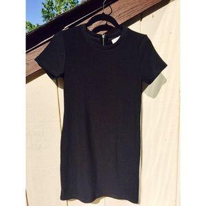 🖤 Zara Trafaluc Black Ribbed Dress 🖤