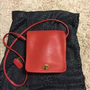 Coach Soho Red Cross Body Bag